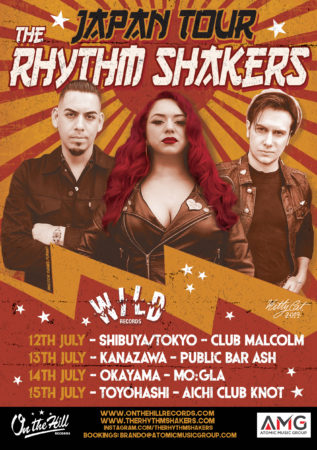 The Rhythm Shakers Japan Tour 2019